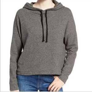 Madewell cropped hoodie